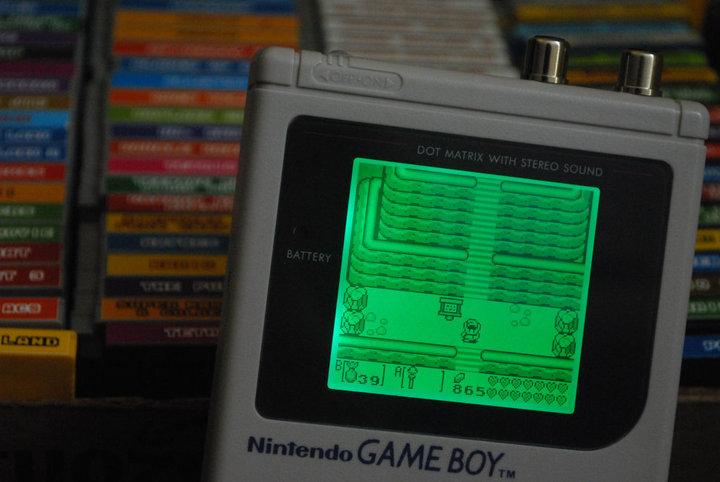 Backlit GameBoy