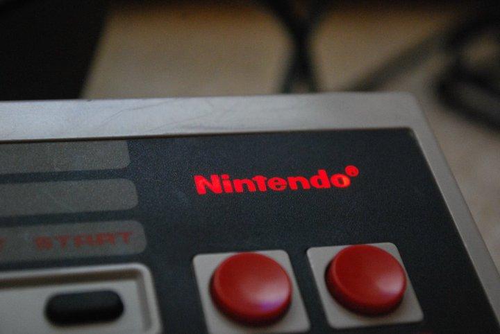 NES Controller Backlit