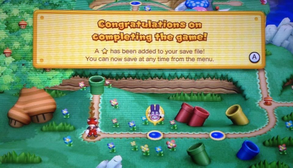 Super Mario Bros. U 100% Complete