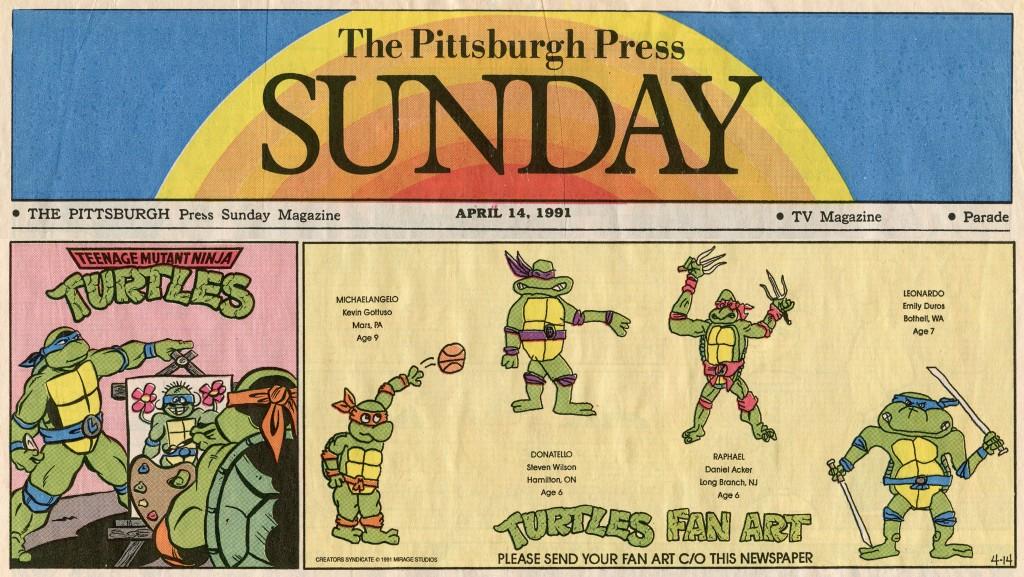Teenage Mutant Ninja Turtles, April 14, 1991