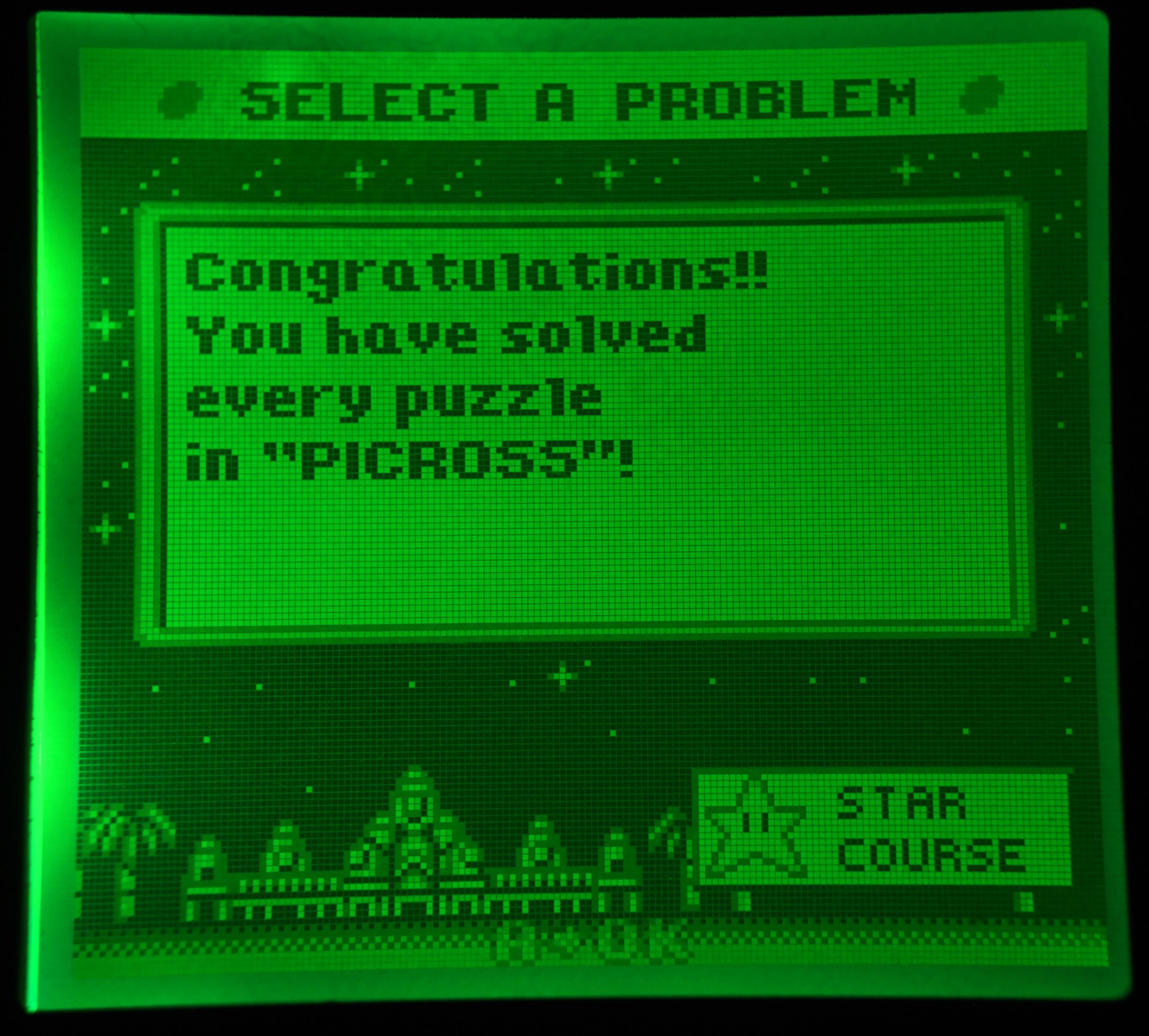 GameBoy Picross