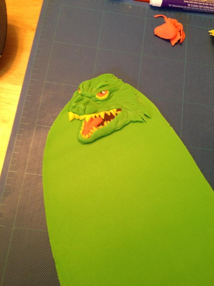 Millennium Godzilla In Progress