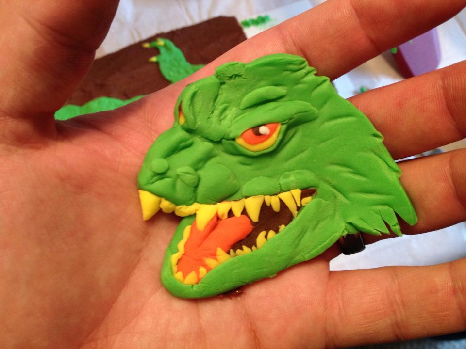 Millennium Godzilla Head