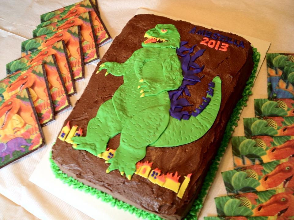 Millennium Godzilla Final Cake