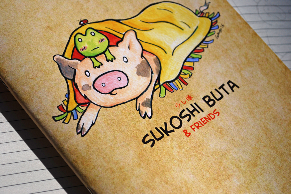 Sukoshi Buta & Friends Notebook