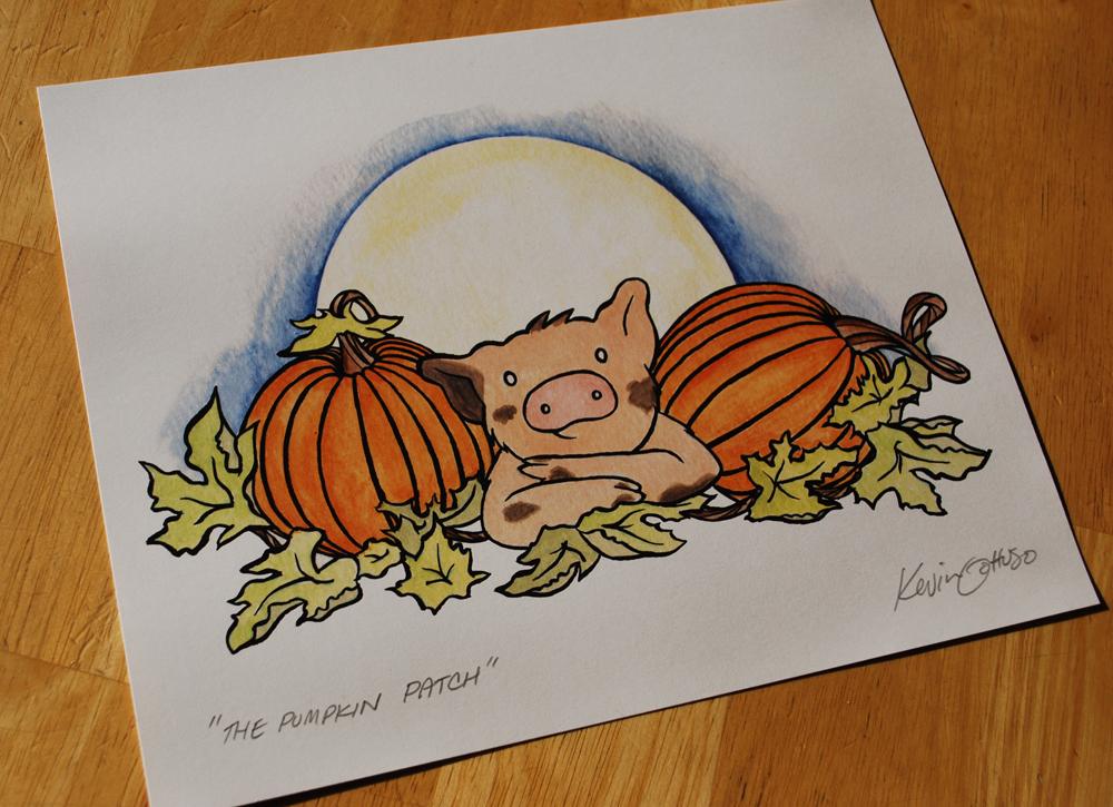 Sukoshi Buta The Pumpkin Patch