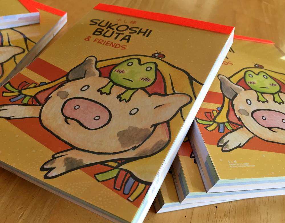 Sukoshi Buta & Friends Notepad