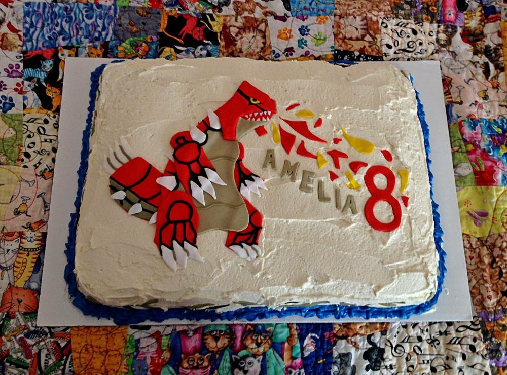 Amelia's 8th Birthday Cake