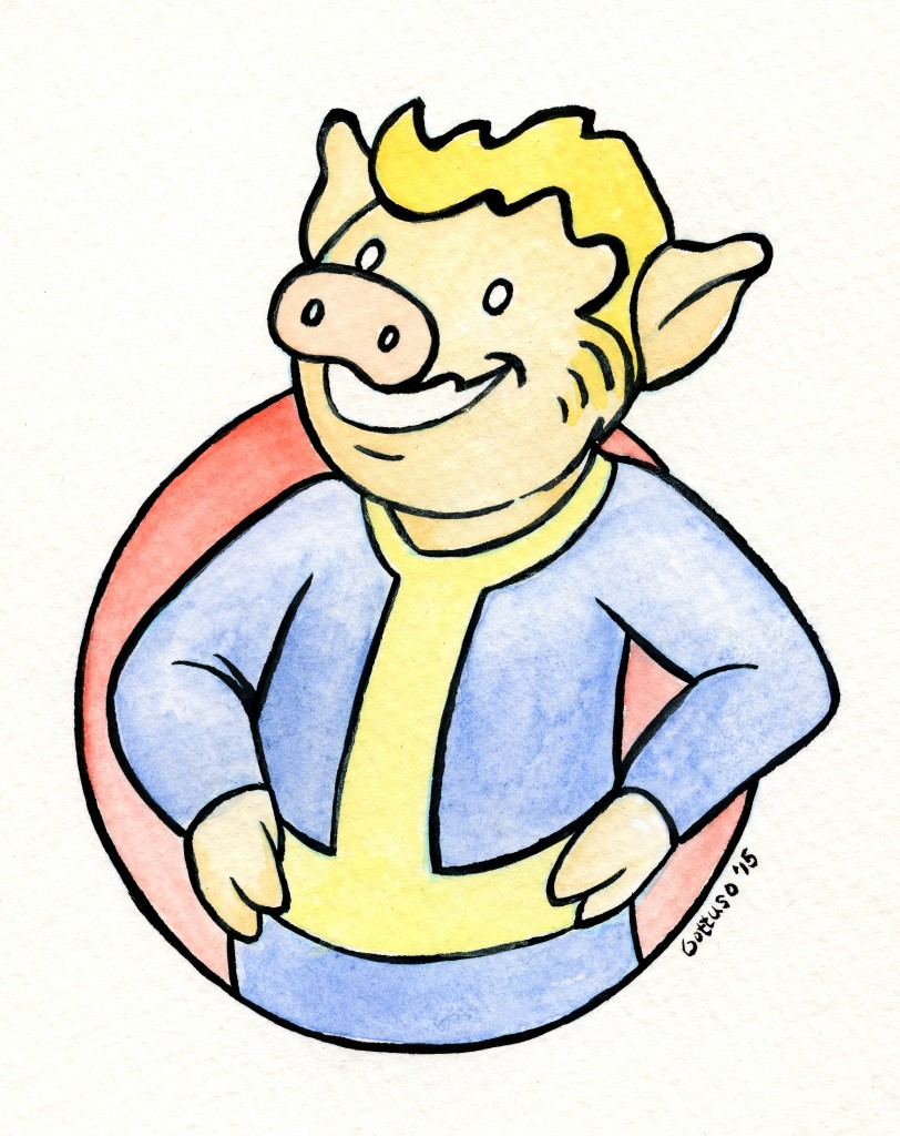Fallout Pig