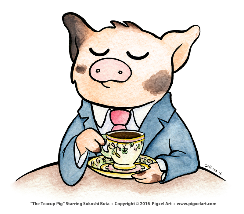 The Teacup Pig