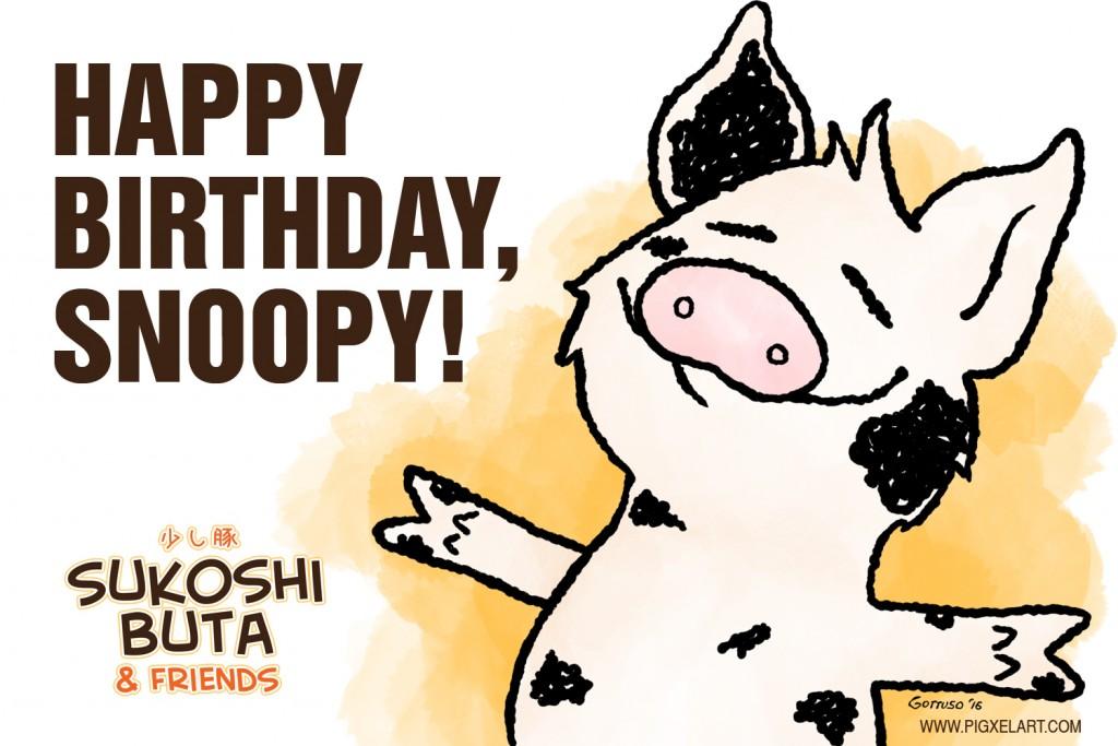 Happy Birthday, Snoopy