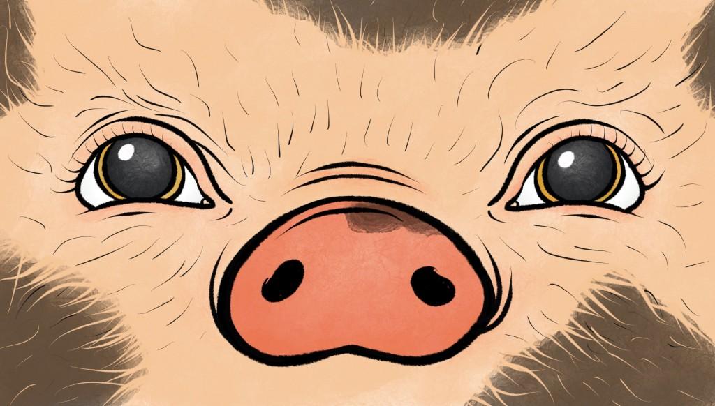 Sleeping Mask Piggy