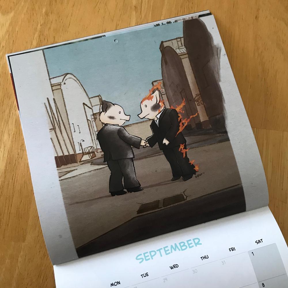 September Pink Floyd